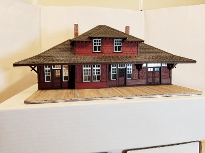 CPR #5 station O-scale