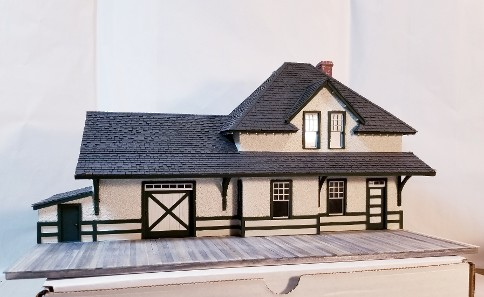 CNR 3rd Class station O-scale